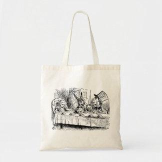 Vintage Alice in Wonderland, Tea Party Scene Tote Bag