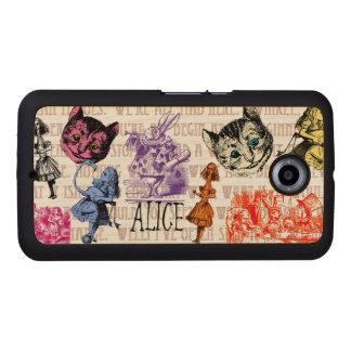 Vintage Alice in Wonderland Wood Phone Case