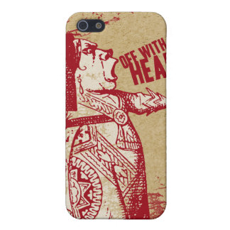 Vintage Alice Off With Her Head iPhone 5 Cover