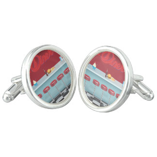 Vintage All American Diner Cuff Links