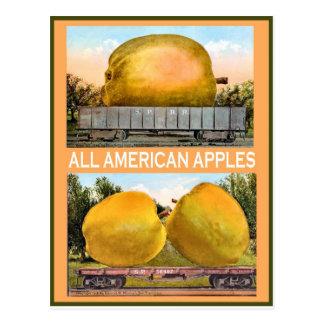 Vintage American advertising Apples Postcards