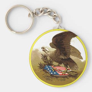 Vintage American Eagle Keychain