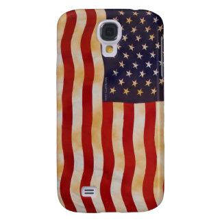 Vintage American Flag 13 HTC Vivid Galaxy S4 Case