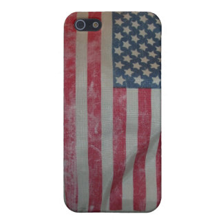 Vintage American Flag Cover For iPhone 5/5S