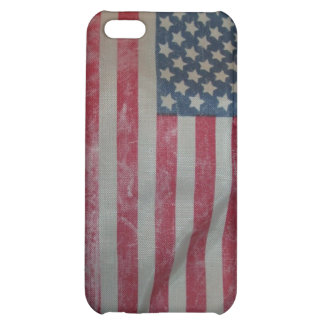Vintage American Flag iPhone 5C Cover