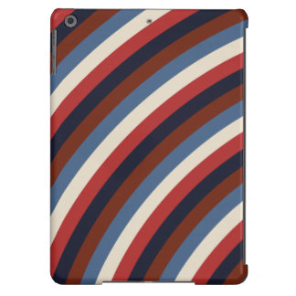 Vintage American Flag Stripes iPad Air Cover