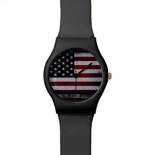 Vintage American Flag watch