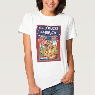 Vintage American patriotic image Tee Shirt