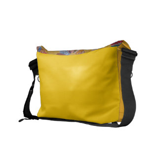 Vintage American Quilt yellow Commuter Bag