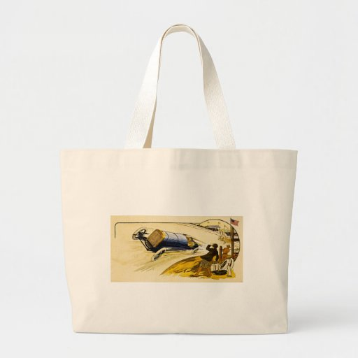 Vintage American Racing Advertisement Bag