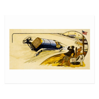 Vintage American Racing Advertisement Postcards