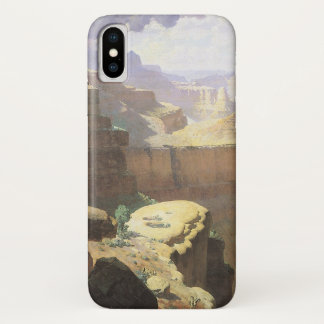 Vintage American West Art, Grand Canyon by Leigh iPhone X Case
