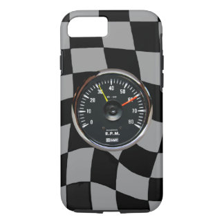 Vintage Analog Auto Tachometer iPhone 7 Cover