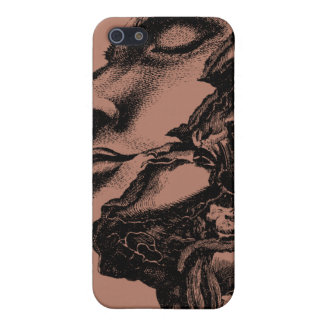 Vintage anatomy style drawing iphone case