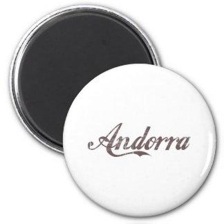 Vintage Andorra Magnet