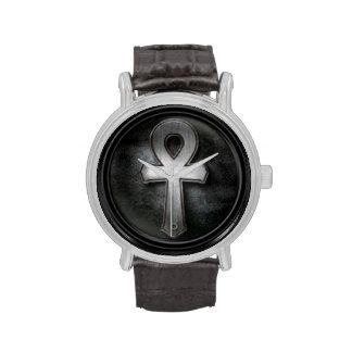 Vintage Ankh Symbol Key of Life Design Wristwatches