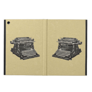 Vintage Antique Black Old Fashioned Typewriter Cover For iPad Air