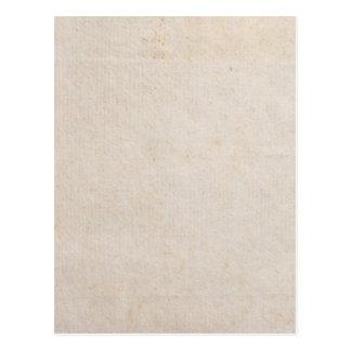 Vintage Antique Parchment Neutral Paper Background Postcard