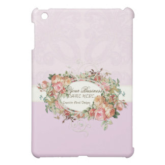 Vintage Antique Roses Floral Bouquet Modern Swirls Cover For The iPad Mini