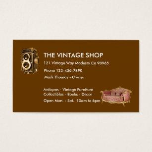 68 vintage furniture business cards and vintage furniture business vintage antiques business cards reheart Images
