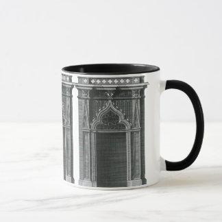 Vintage Architectural Element, Gothic Doorway Mug