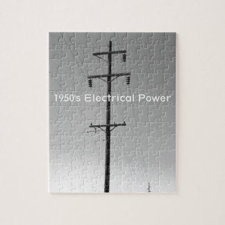 Vintage Arizona Electric Jigsaw Puzzle