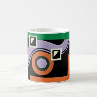 Vintage Art Deco Pochoir Jazz Illustration Pattern Coffee Mug