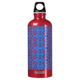 Vintage art nouveau in lavender blue SIGG traveller 0.6L water bottle