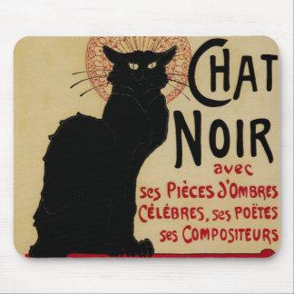 Vintage Art Nouveau, Le Chat Noir Mouse Pad