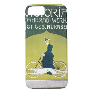 Vintage Art Nouveau, Victoria Fahrrad Werke, Rehm iPhone 8/7 Case