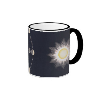 Vintage Astronomy, Phases of the Moon with Sun Coffee Mugs