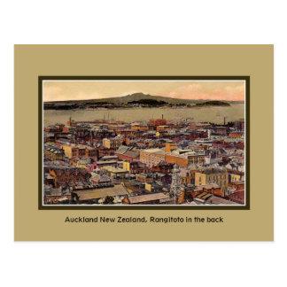 Vintage Auckland New Zealand, Rangitoto Island Postcard