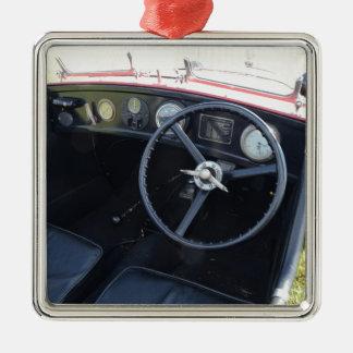 Vintage Austin Seven Dashboard Christmas Ornament