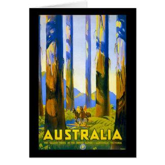 Vintage Australia Marysville Victoria Card