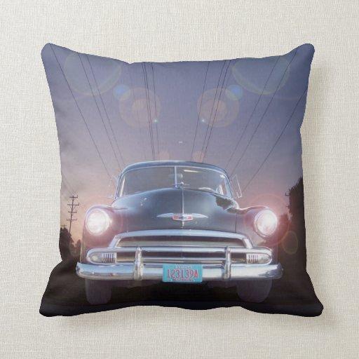 Vintage Auto American MoJo Pillows