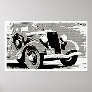 Vintage Auto Canvas Print