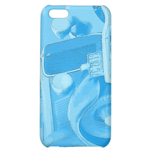 Vintage Auto iPhone Case Cover For iPhone 5C