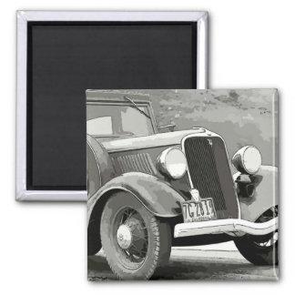 Vintage Auto Magnet