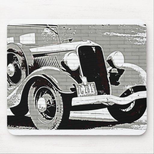 Vintage Auto Mouse Pad