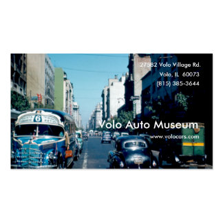 Vintage Auto Museum Pack Of Standard Business Cards