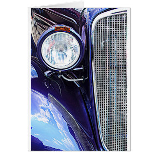 Vintage Auto Notecard Note Card