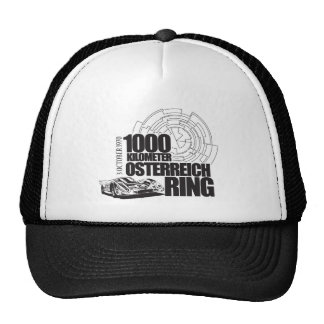 Vintage Auto Racing T-Shirt Hats