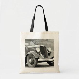 Vintage Auto Tote Bag