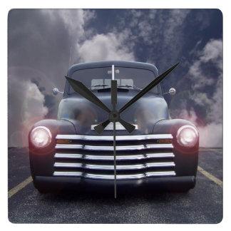 Vintage Auto Wall Clock