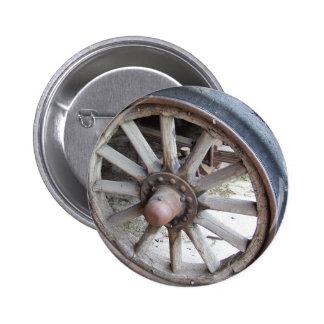 Vintage Auto Wheel 6 Cm Round Badge