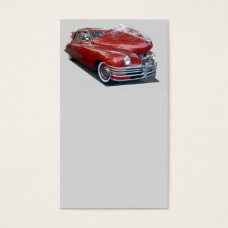 Vintage Automobile Business Card