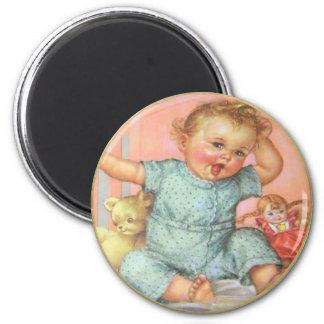 Vintage Baby Magnet