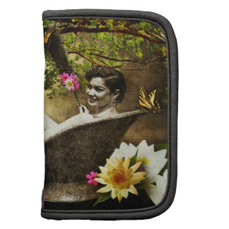 Vintage Bathgirl Folio Mini Organizer