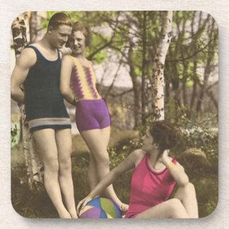 Vintage Bathing Beauties Coaster