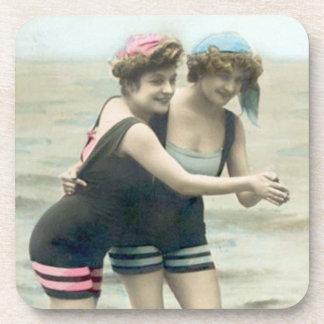 Vintage Bathing Beauty Coasters